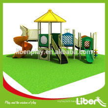 Meet ASTM Standard Preschool Outdoor Play Equipment For Entertainment