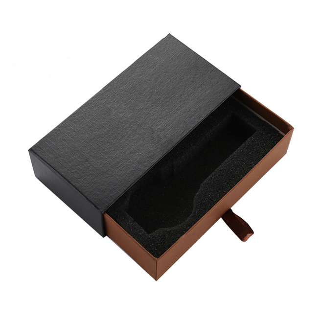 Black Cardboard Rigid Gift Box