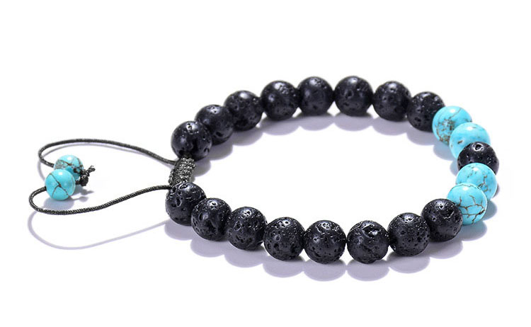 lava rock bracelet mens