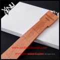 Create Your Own Brand Men's Hand Crafted Peach Skinny Wooden Neck Tie