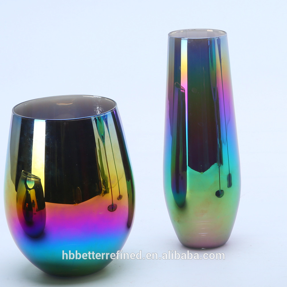 Wholesale Rainbow Goblet Wine Glass Relation1