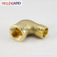 Brass Solder Fitting with Male Thread Elbow