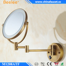Double Sides Adjustable LED Light Magnifying Mirror