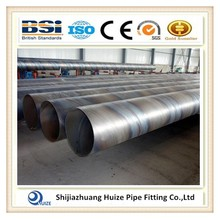 API SSAW spiral welded steel pipes