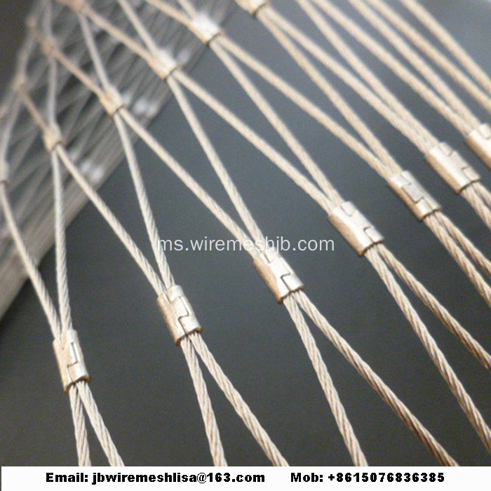 Mesh Cable Stainless Steel Fleksibel