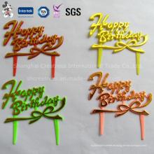 Precio barato Happy Birthday Cake Decoration