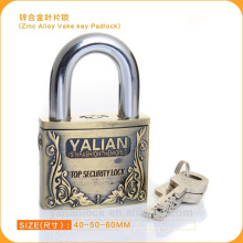 Top Security Zinc Alloy Bullet Padlock