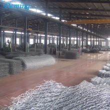 Galvanized+and+PVC+Coated+Gabion+Basket+for+sale