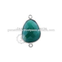 Bijoux en pierres précieuses en argent sterling 925 Bague en argent sterling avec anneaux Sterling Silver Bezel