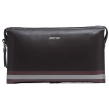 High Quality Soft Cowhide Leather Wallet Clutch Bag (213-295)