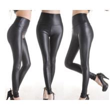 Moda de alta qualidade mulheres de couro olhar leggings (sr8207)