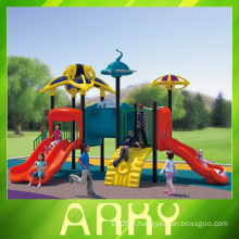 Aire de jeux en plastique de bonne qualité commerciale pour l'utilisation du parc d'attractions