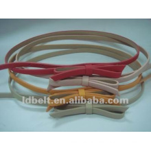 Slim PU belt