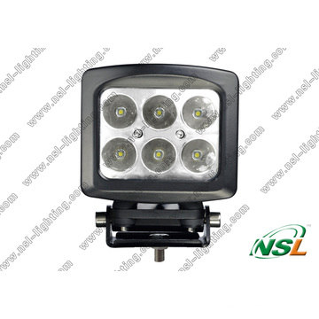 5 Inch 6PCS*10W CREE 60W LED off Road Fog Light Waterproof High Power for Truck (NSL-6006S-60W)
