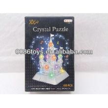 2013 neues Einzelteil 105PCS Puzzlespiel mit Licht-Schloss