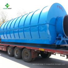 Usine de pyrolyse de plastique à combustible avec technologie de conversion avancée