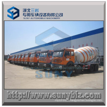 North Benz 10 M3 Mixing Drum 8X4 Concrete Truck