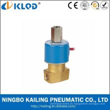 Válvula solenoide de control de agua de 3 vías de precio bajo serie Qx 24 V
