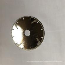 profesional puede personalizarse cortador de cuchilla de disco abrasivo de diamante de piedra de granito de mármol