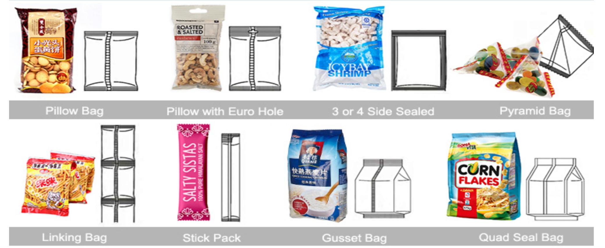 potato chips packaging
