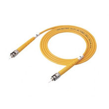 Cable de remiendo de la fibra óptica del ST UPC del solo modo, 9/125 cable de la fibra óptica del ST