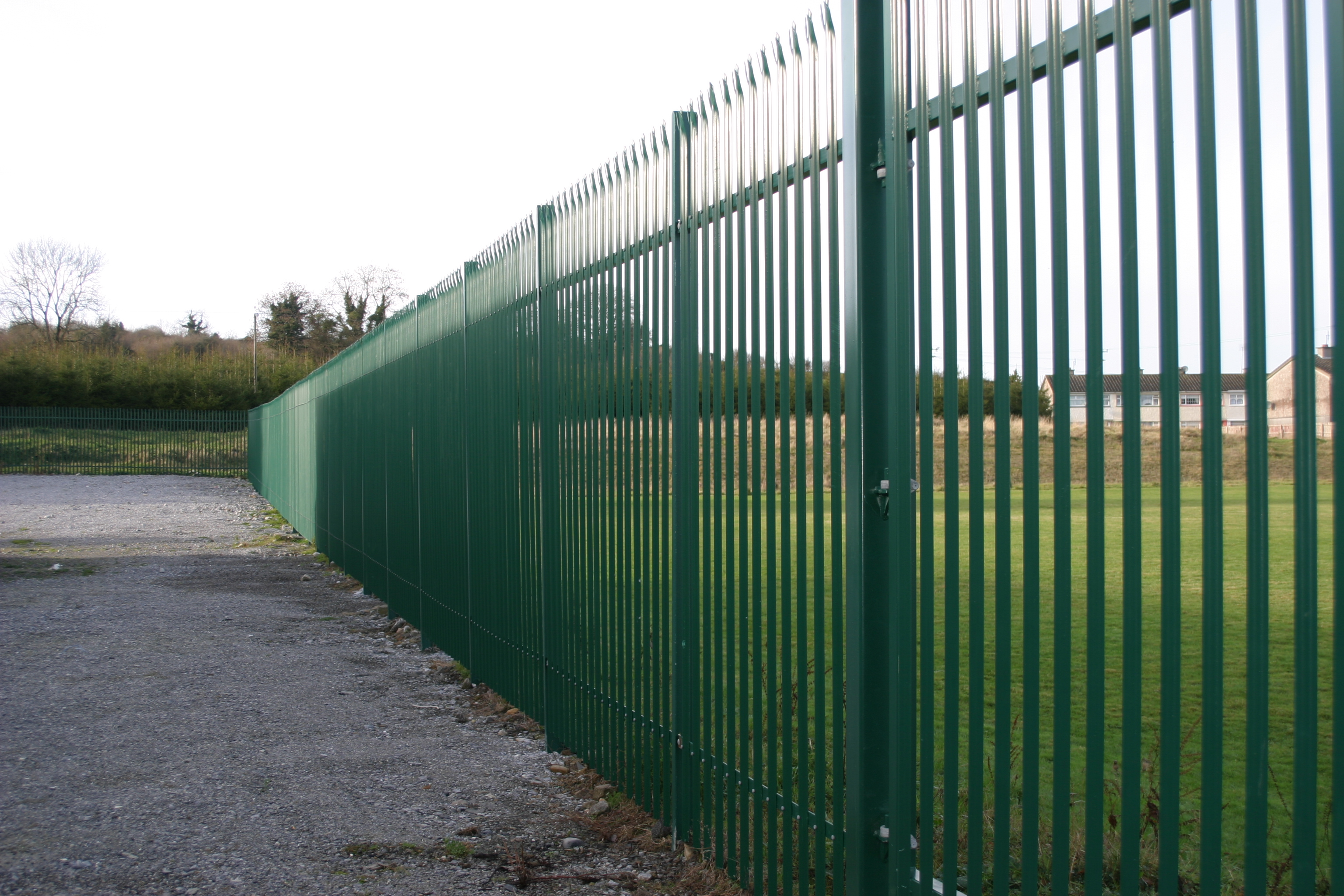 powder coated palisade