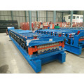 Ibr Bergelombang Atap Mesin Roll Forming Double Layer