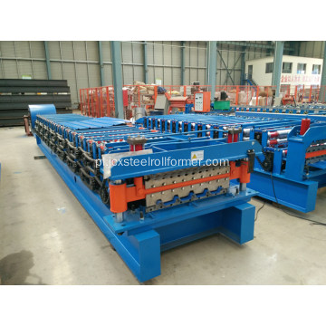 Ibr Corrugated Roofing Double Layer Roll Machine