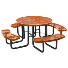 Tisch, Esstisch, Gartentisch mit Stühlen