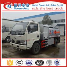 DFAC 5.5cubic metros pequeño camión cisterna de combustible de aceite para la venta