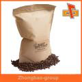 Bolsas de embalaje de alta calidad proveedor de China stand up papel kraft bolsas de café personalizado con la impresión