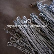 Do sistema de proteção da inclinação da fábrica que pesca o melhor preço para você rede da corda de fio