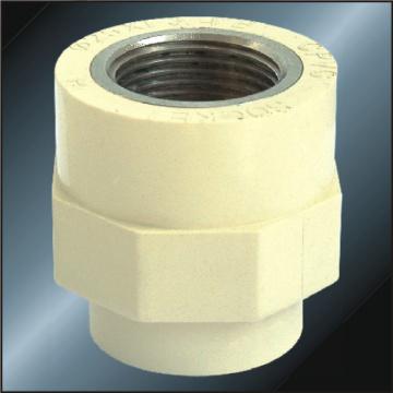 DIN PN16 Water Supply Upvc Female Socket Brass