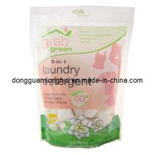 Levante-se saco de detergente de lavanderia / saco de detergente líquido / saco de embalagem de detergente
