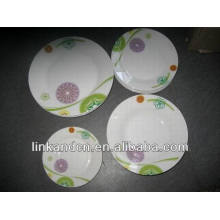 Haonai italian ceramic dinnerware plate sets,dinnerware set