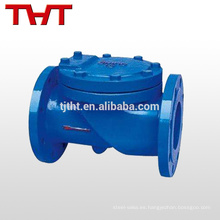 válvula de retención de la válvula de aguas residuales / válvula de retención de acero inoxidable