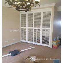 Vinil / PVC Hot Sale White Elegance Plantation Shutters Louver Components