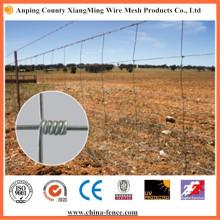 Valla de ganado de campo galvanizado caliente para la venta