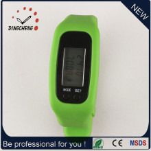 Gift Watch Pedometer Wristwatch Silicone Bracelet Watch (DC-001)