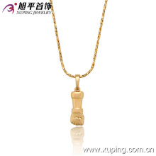 31943 Light weight fashion gold jewelry 1 gram gold plated hand pendant for young people