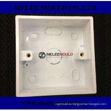 Molde de receptáculo de enchufe de caja de alambre de plástico
