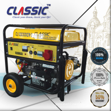 CLASSIC CHINA 5KW 188F 13HP Electric Start AC Single Phase 100% Copper Wire Home Use Gasoline Generator With Handle
