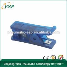 Cortador plástico de alta qualidade da tubulação de mangueira do ar de ESP, cortador da ferramenta, cortador de nylon do tubo