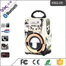 Барбекю КБК-08 10Вт 800мач 2018 новое Прибытие мультимедийный динамик с входным микрофоном Сделано в Китае
