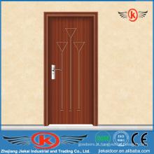 JK-P9023 Design de porta de madeira laminada em PVC