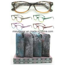 Óculos de leitura de moda senhoras óculos (MRP21645)