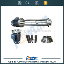 Stainless steel emulsifier high shear mixer,emulsifying mixer
