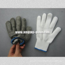 Двойной Слой Металлической Сетки Порезостойкие Перчатки --2353