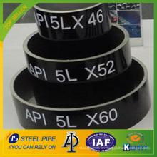 Hot vender API 5LPSL-1 / PSL-2 linha de aço carbono sem costura Tubos e tubos