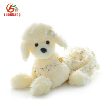 Custom Lifelike White Poodle Puppy Black Puppies Stuffed Toy Dog French Plush Poodle For Sale